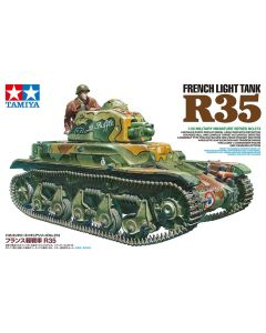Tamiya French Light Tank R35 1:35 Plastic Model Kit HC-35373