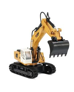 Huina Radio Controlled 9Ch Excavator 1:18 With 2.4Ghz Transmitter - CY1331