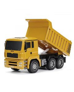 Huina Radio Controlled Dump Truck 1:18 With 2.4Ghz Transmitter  - CY1332