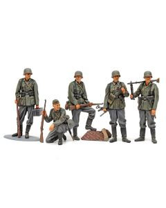 TAMIYA German Infantry Set (Mid WWII) 1:35 Plastic Model Kit HC-35371