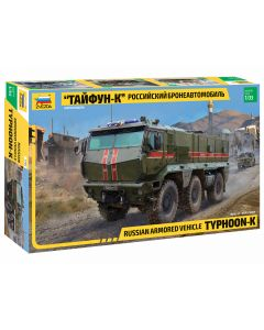 Zvezda Russian Armored Vehicle Typhoon-K 1/35 Plastic Military Kit - Z3701