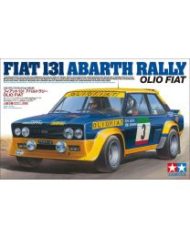Tamiya 1/20 Fiat 131 Abarth Rally Car Plastic Kit - 20069