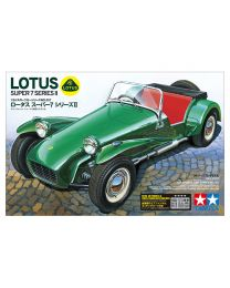 Tamiya Lotus Super 7 Series 2 1/24 Plastic Model Car Kit - 24357