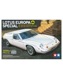 Tamiya Lotus Europa Special 1/24 Plastic Model Car Kit - 24358