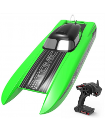 Volantex  Atomic SR85 Brushless Racing Boat (No Batt) - Green - V798-3